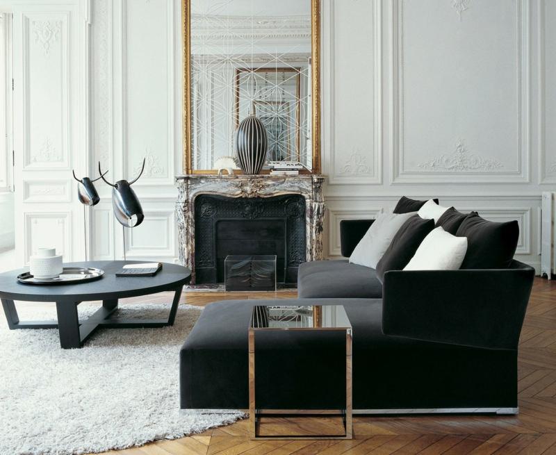 neue wohntrends klassische wohnungseinrichtung ideen - Neue Moderne Wohnungseinrichtung