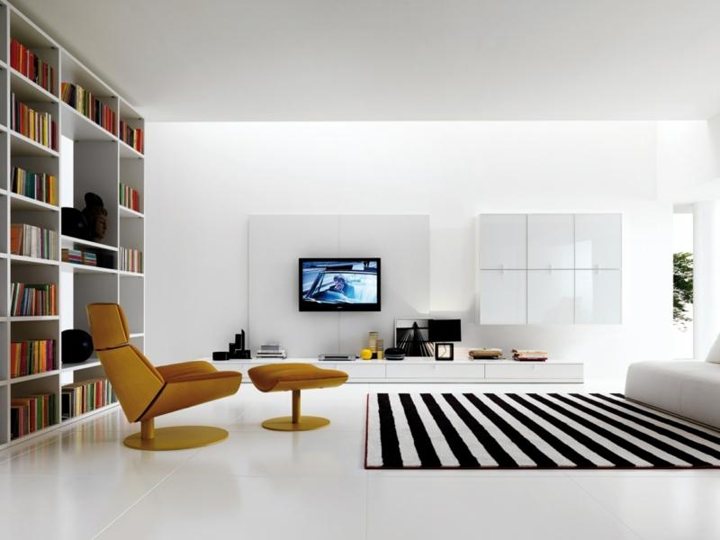 neue Wohntrends klassische Wohnzimmer Einrichtung Möbel