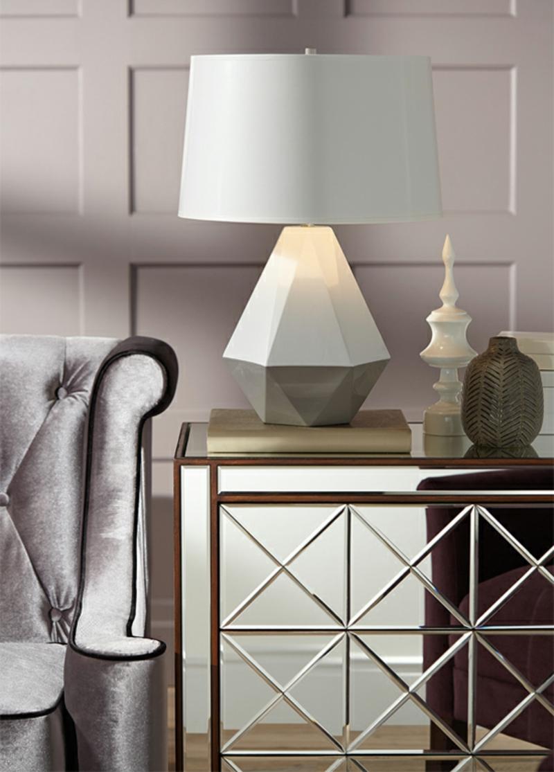 neue Wohntrends klassische Wohnzimmermöbel