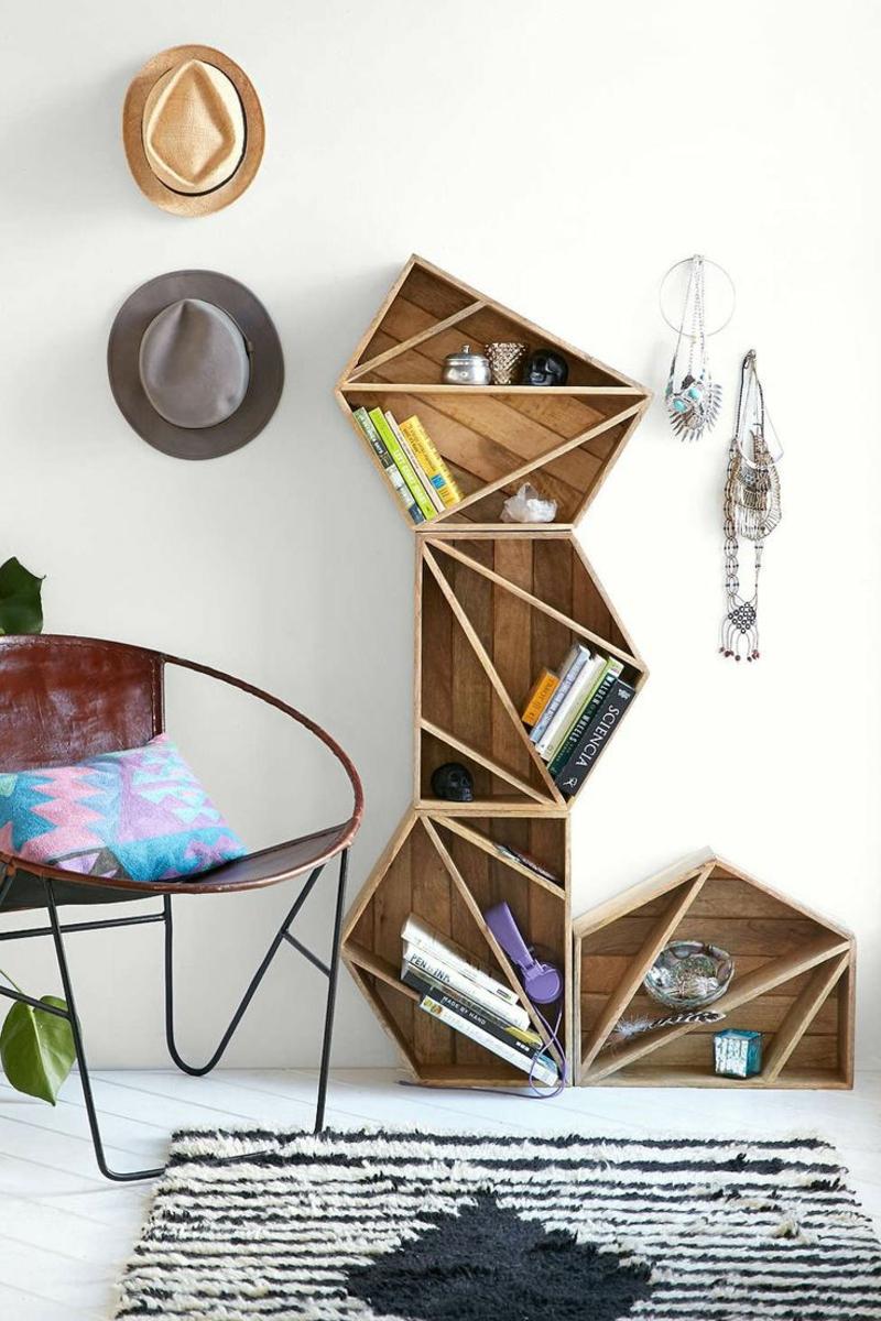 neue Wohntrends modernes Möbeldesign Wandregal