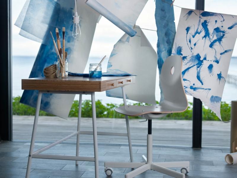 neuer Ikea Katalog online Schreibtisch
