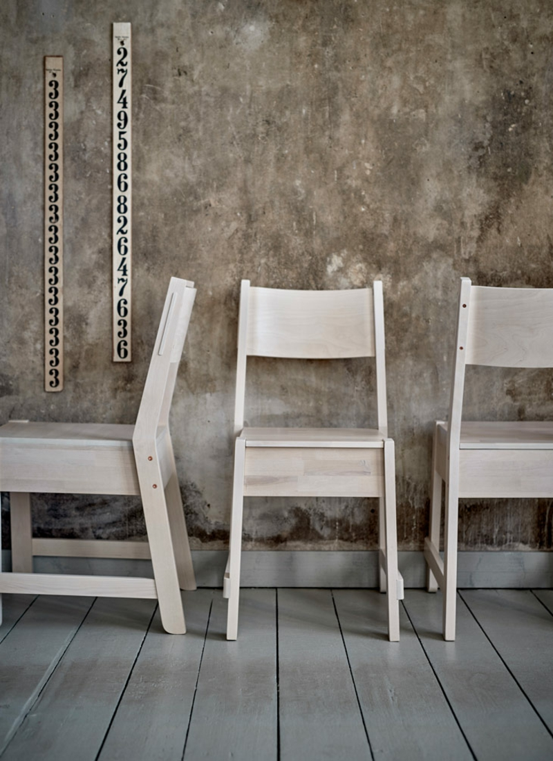 neuer Ikea Katalog online Stühle aus Holz