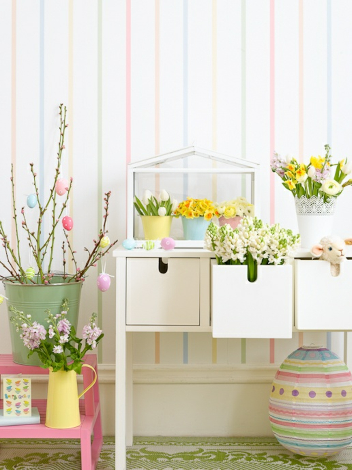 55 refined Easter decoration ideas for your atmospheric party