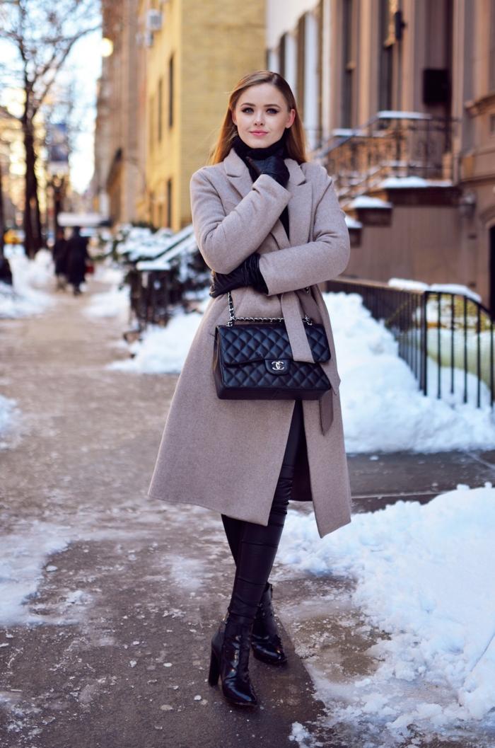 pflege für trockene haut hände winter handschuhe frauenmode