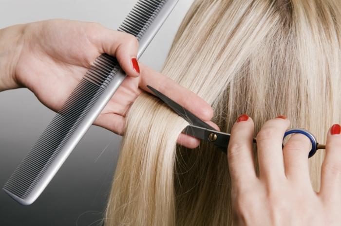 richtige haarpflege hautpflege haarschnitt blondes haar frisör