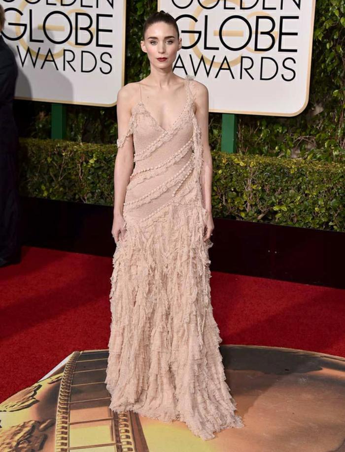 schöne Abendkleider Golden Globes 2016 rooney mara almcq