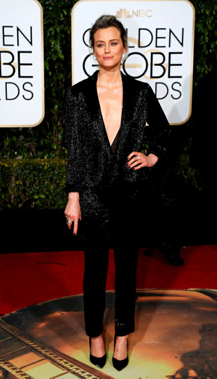 schöne Abendkleider Golden Globes 2016 tylor shilling