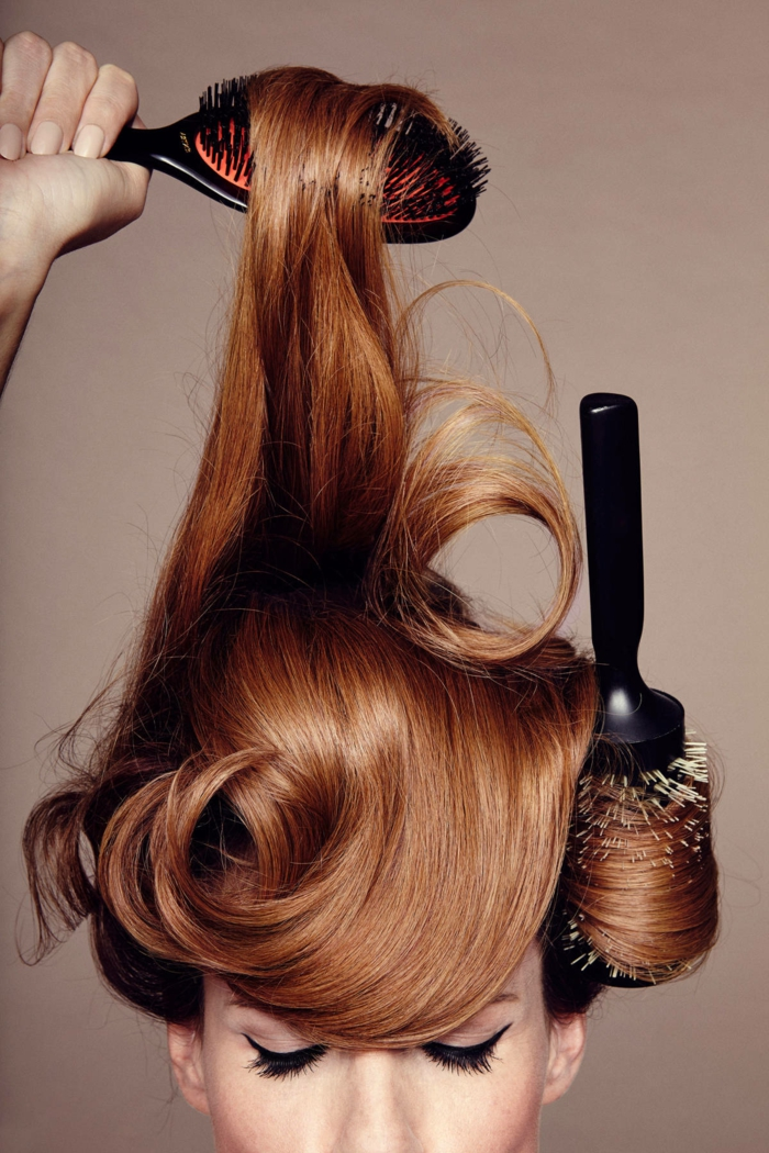 schönes haar haarbürste lifestyle trends