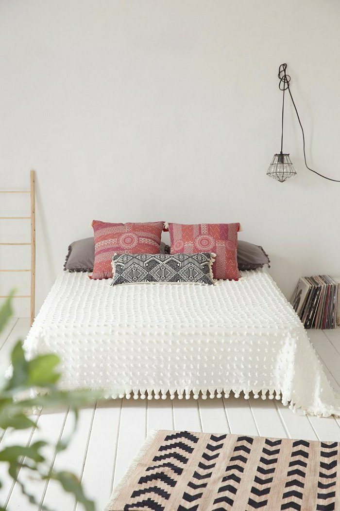 Schlafzimmergestaltung f r kleine r ume 30 for Chambre urban outfitters