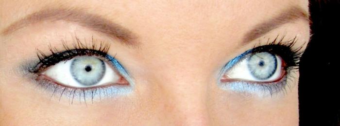 schminktipps blaue augen braune augen grüne augen fotografie tipps außen augen make up lidschatten