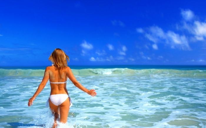 schnell und gesund abnehmen strandfigur meer urlaub sommer