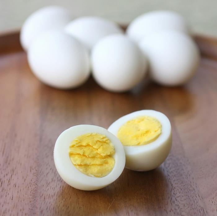 schnelles gesundes essen kleiner hunger gekochte eier