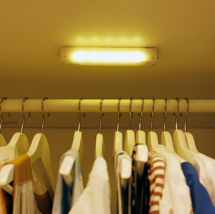 schrankleuchten kleiderschrank beleuchten funktional wohnideen aliexpress