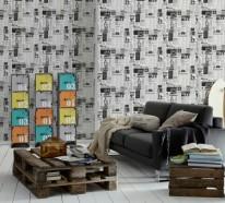 50 moderne Tapete Muster – funktionelle Möglichkeiten für Innen und Außen