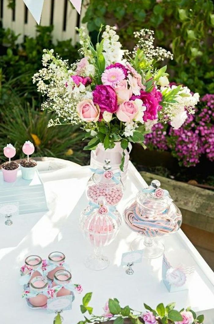 50 Ideen für Tischdeko Gartenparty unter Freunden ...