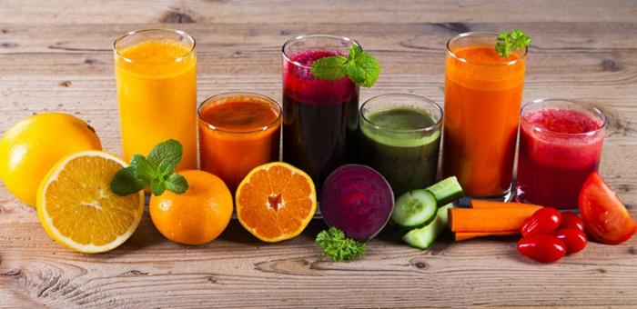 trennkost ernährung gesund frisches obst früchte gemüse smoothies zubereiten vitamine mineralien