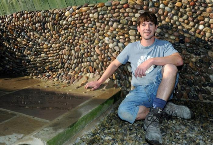 trockenmauer natursteine mauerwerk mauerer johnny clasper künstler