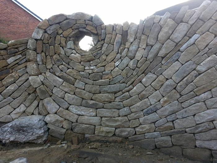 trockenmauer natursteine mauerwerk maurer künstler