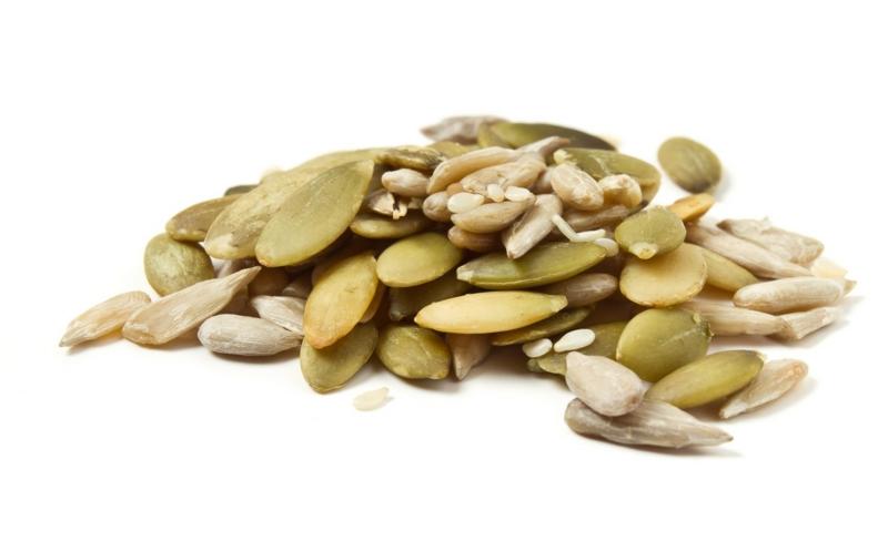 vegane Ernährung gesund Nüsse und Samen