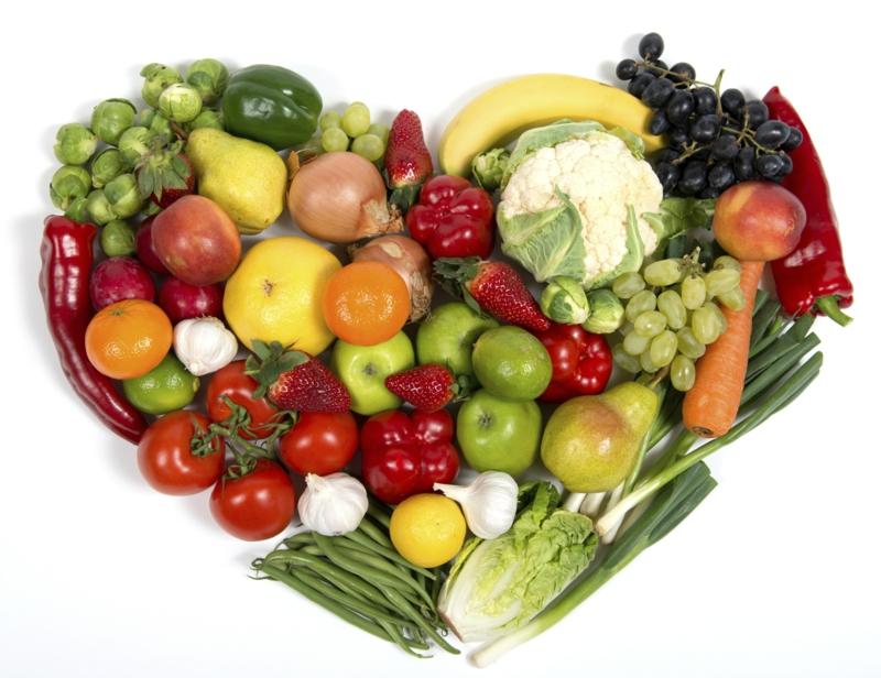 vegane Ernährung gesund Obst und Gemüse gesundes Leben