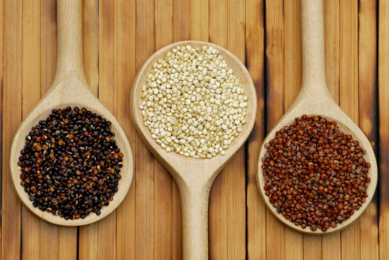 vegane Ernährung gesund Quinoa verschiedene Sorten