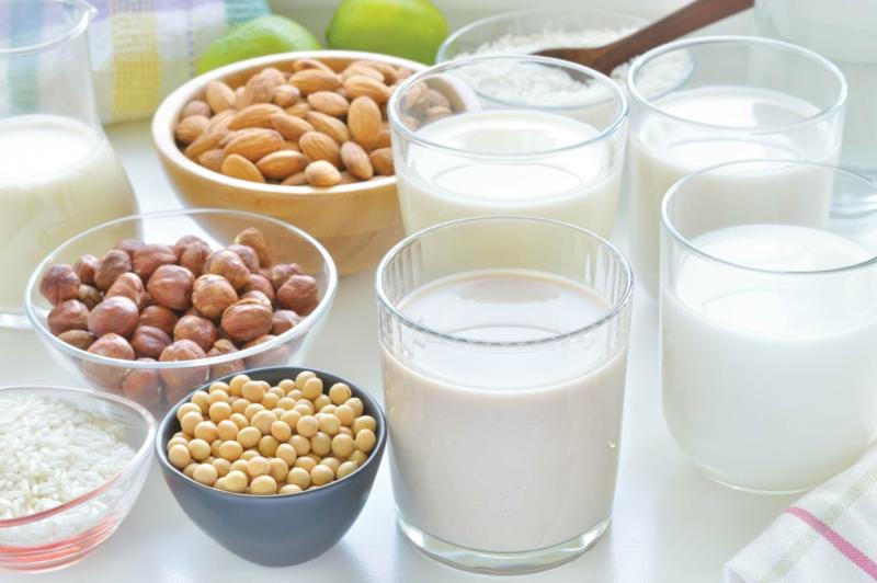 vegane Ernährung gesund Reismilch trinken