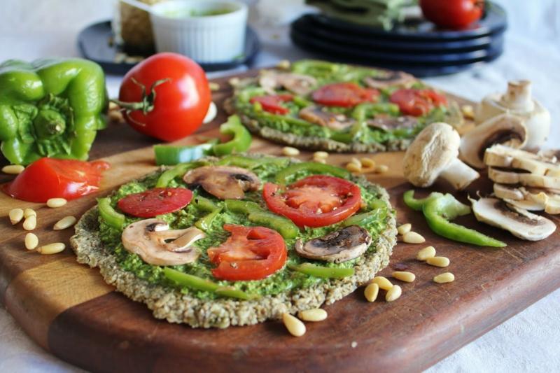 vegane Ernährung gesund Rezepte vegan