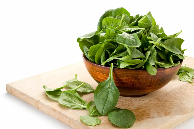 vegane Ernährung gesund Spinat veganer Ernährungsplan