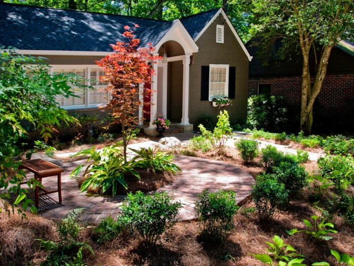 Small Front Yard Landscaping Before And After : Small front yard landscaping ideas best home and