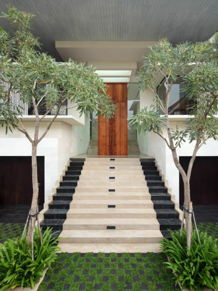 vorgarten anlegen sch ne ideen wie sie den vorgarten. Black Bedroom Furniture Sets. Home Design Ideas