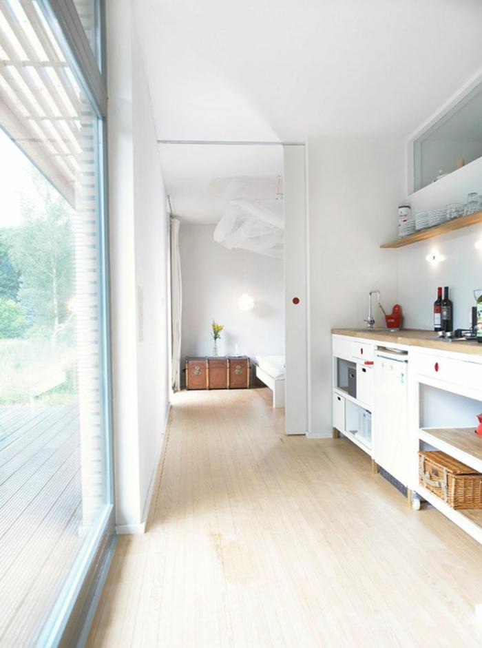 wandfarbe weiß weiße küche wohnideen küche