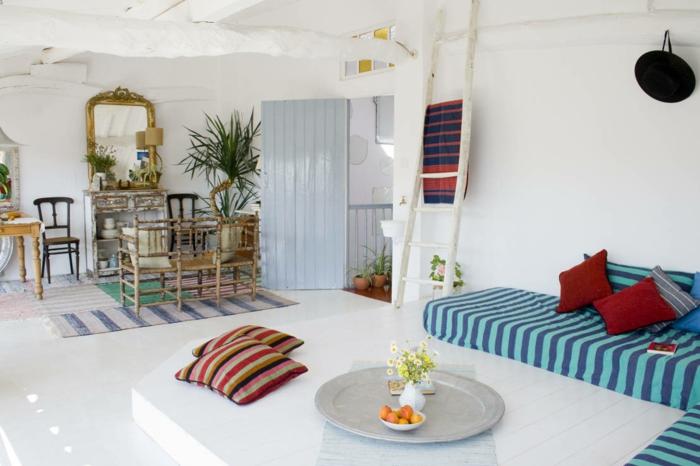 wandfarbe wei 29 raffinierte ideen f r ihre wandgestaltung. Black Bedroom Furniture Sets. Home Design Ideas