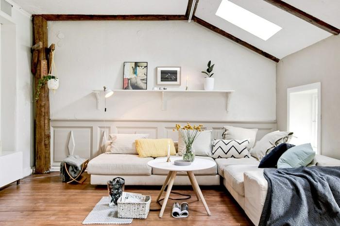Wohnzimmer Weiss Holz