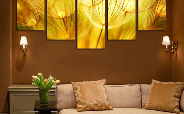 wandfarben-2016-trendfarben-braune-farbtöne-wandgestaltung-wanddekoration