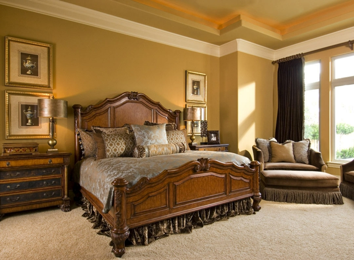 wandfarben 2016 trendfarben schlafzimmer wandekoration godlocker trendfarbe wandgestaltung klassisch traditionelles design neobarock