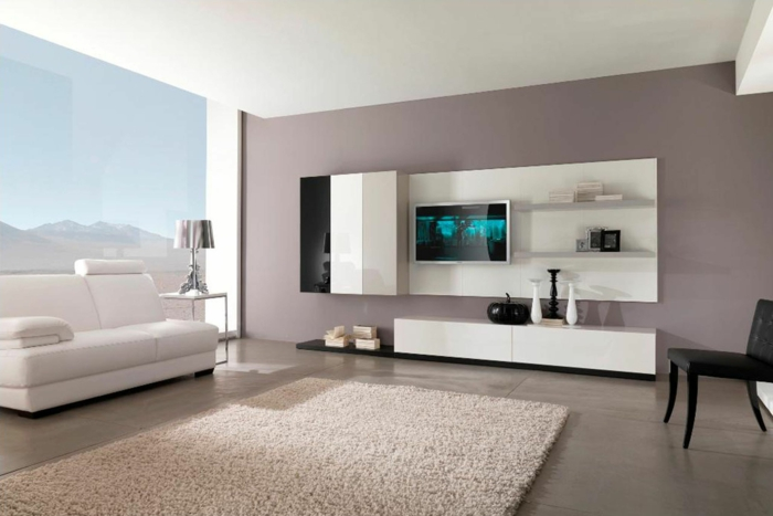 Attraktiv Wandfarben 2016 Trendfarben Wanddekoration Nude Pastell Weiß Wohnzimmer  Wandgestaltung