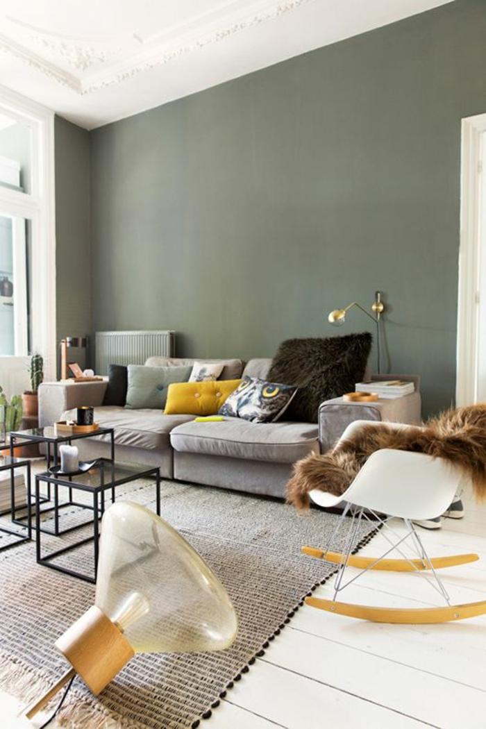 wandfarbe 2016 trendfarben wohnzimmer soldatengrün pastellfarbe wandfarbe trend