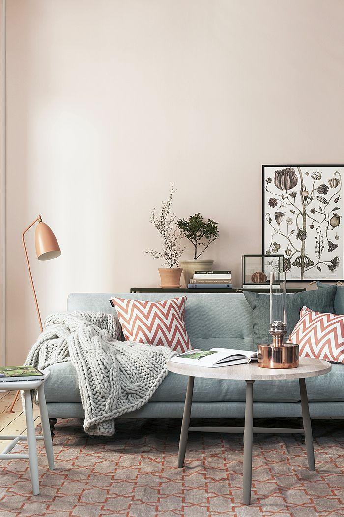 wandfarben 2016 trendfarben wohnzimmer wanddekoration wandgestaltung nude hellbeige neutrale wandfarbe