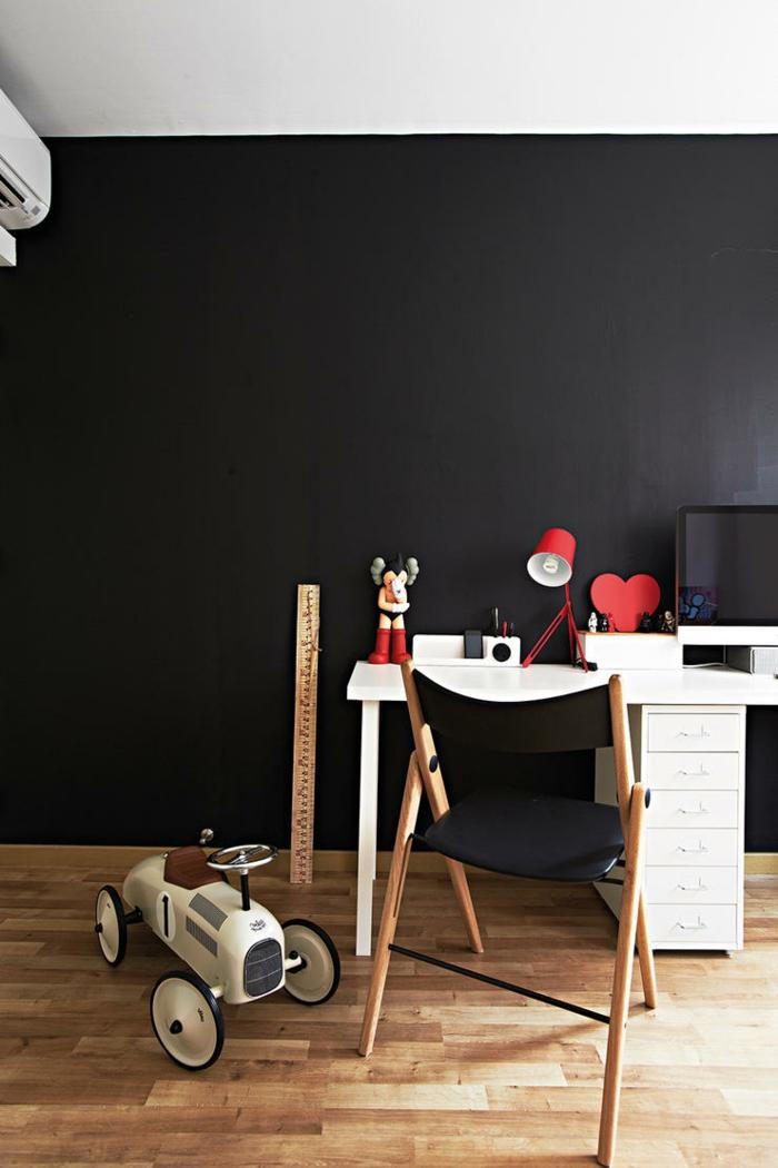 raumgestaltung kreidetafel diy deko ideen wandtafel wandgestaltung wandtafel pinwand wohnideen ornungssystem wandmalerei dunkle wand