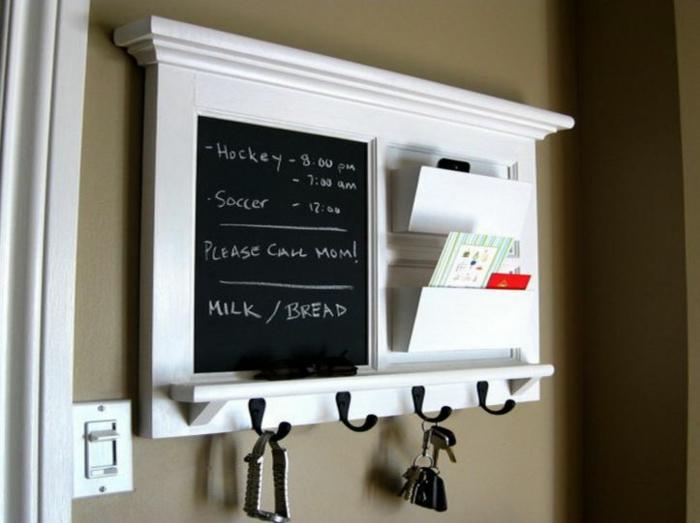 raumgestaltung kreidetafel diy deko ideen wandtafel wandgestaltung wandtafel pinwand wohnideen ornungssystem wandmalerei küche