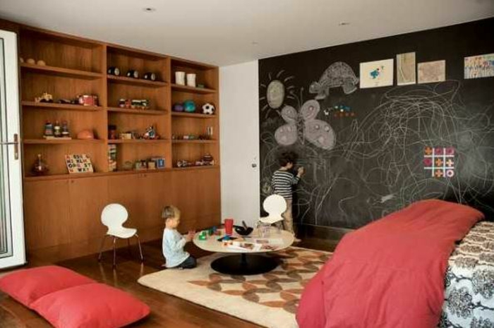 raumgestaltung kreidetafel diy deko ideen wandtafel wandgestaltung wandtafel pinwand wohnideen ornungssystem wandmalerei kinderzimmer