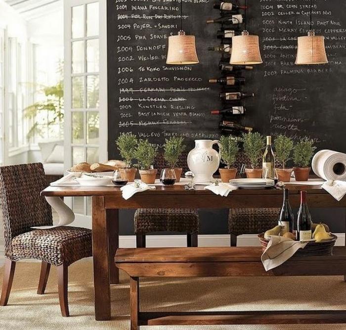 raumgestaltung kreidetafel diy deko ideen wandtafel wandgestaltung wandtafel pinwand wohnideen ornungssystem wandmalerei tür cafee