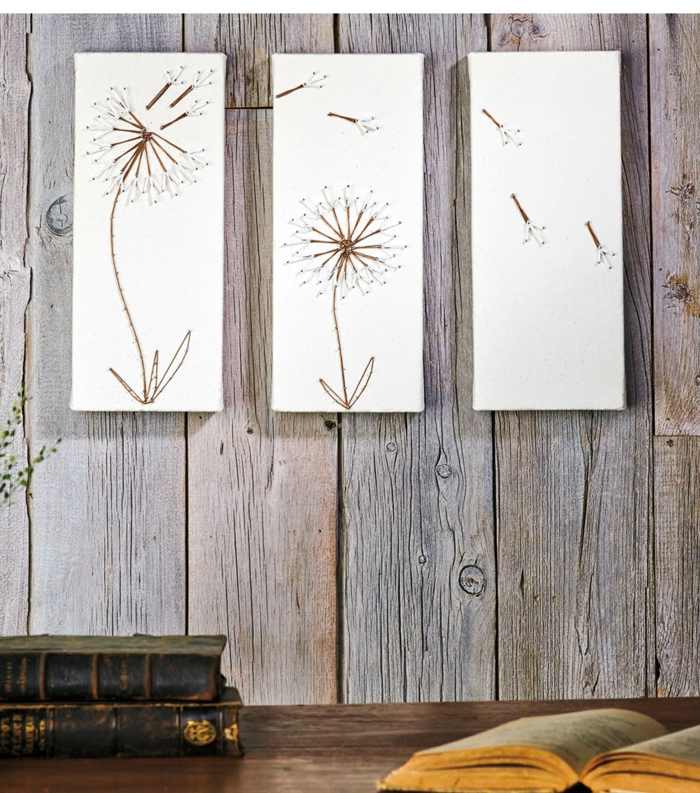 29 wandideen f r die kreative wandgestaltung. Black Bedroom Furniture Sets. Home Design Ideas