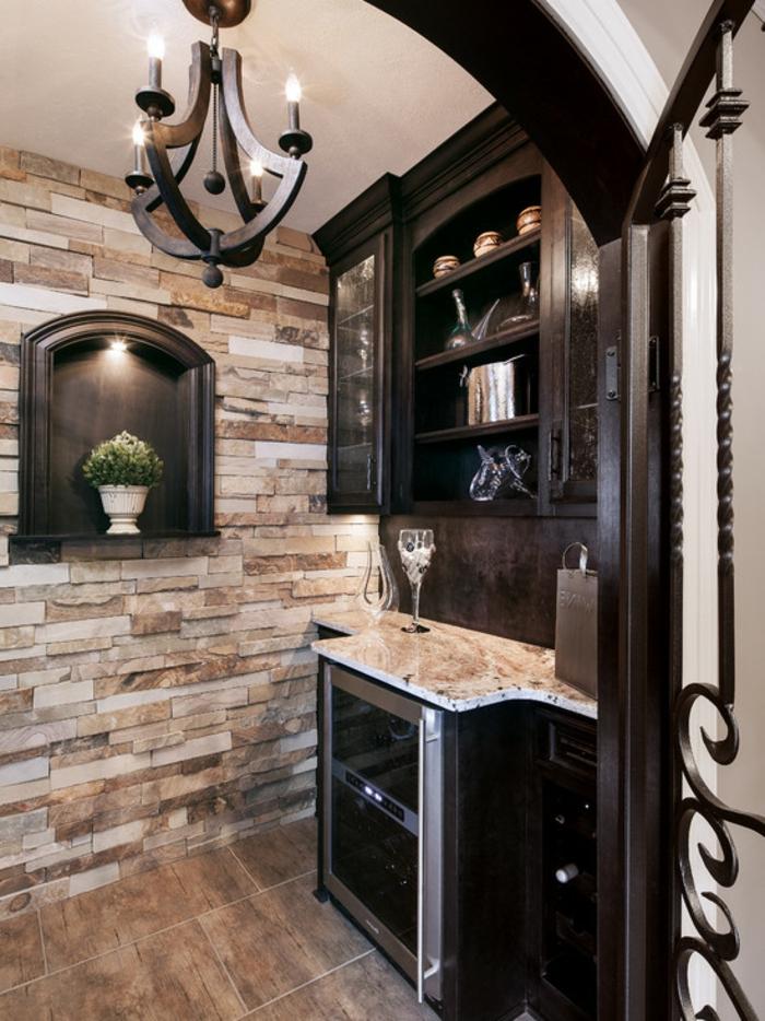 wandpaneele steinoptik stellen eine schicke m glichkeit zur wandverkleidung dar. Black Bedroom Furniture Sets. Home Design Ideas