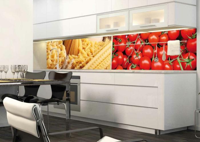 küchendesign wandpaneele abbildungen küche gestalten ideen
