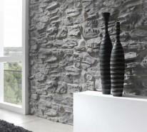 ▷ 1000 ideen für Wandverkleidung aus unterschiedlichen ... | {Fliesen steinoptik wandverkleidung 76}
