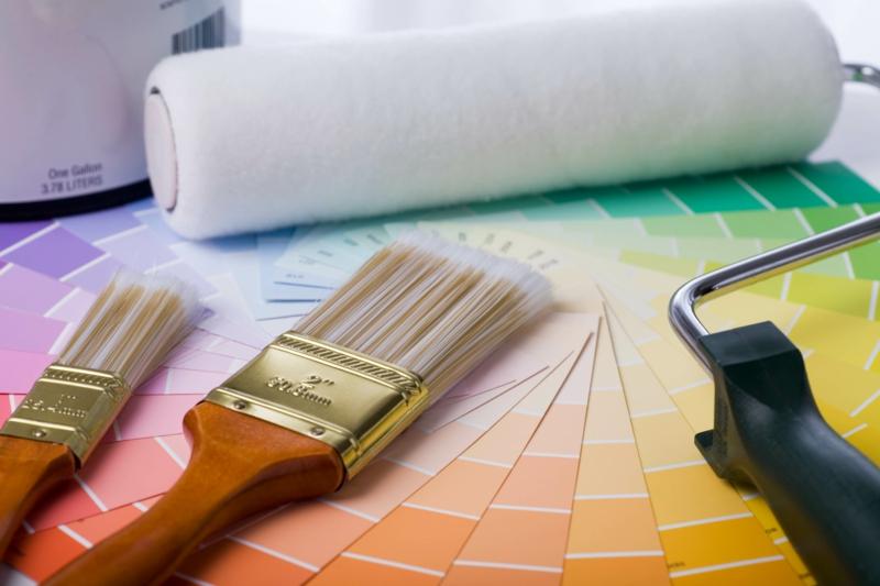 weiße Wandfarbe Arbeitszimme Einrichtungsideen Wandfarben kombinieren