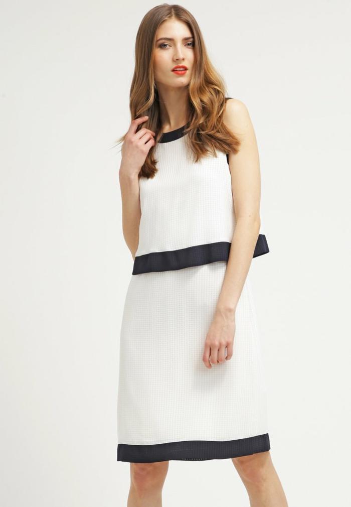 weiße klieder weißes kleid zalando damen mode chanel