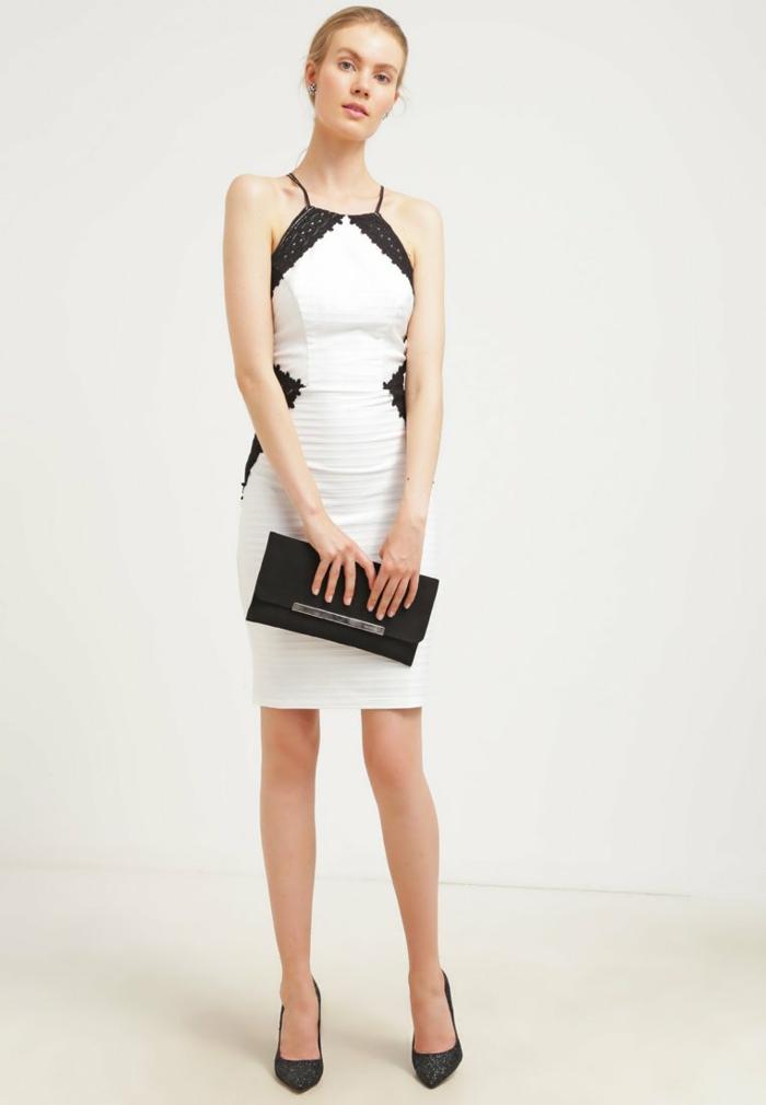 weiße klieder weißes kleid zalando damen mode edeldame