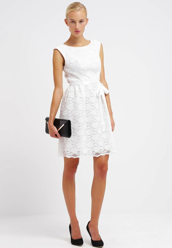 weiße klieder weißes kleid zalando damen mode fein